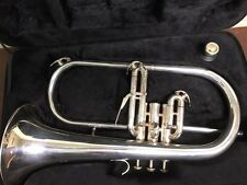 Schmidt Flugelhorn SD200FDS Silver with third trigger, Excellent Condition