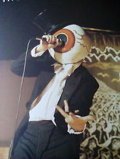 """The Residents Live 8.5"""" x 6"""" Picture from Book Ideal to Frame?"""