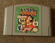 Banjo Tooie Not For Resale N64 Nintendo 64 With Rare Back Sticker