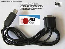 FTDI USB Cable Cat Para Yaesu Ftdx - 1200 Ftdx - 3000 Ftdx - 5000 Ftdx - 9000 FT-991