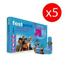Pack 5 unità. FOSTPRINT Fost Print Junior fragola 20 fiale SORIA NATURAL