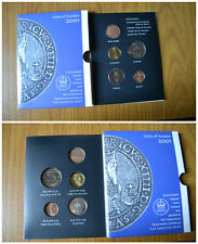 LOTTO 5 MONETE SWEDEN 2001 MINT MEDAL 1 5 10 KRONOR 50 ORE SUBALPINA