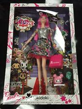 BARBIE TOKIDOKI 10th ANNIVERSARY DOLL BLACK LABEL NEW*****
