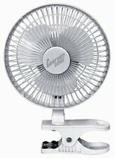 "Comfort Zone CZ6C - 6"" Clip-On Fan, White"