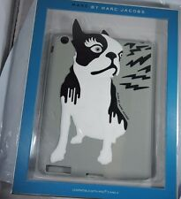 NEW Marc by Marc Jacobs Olive Boston Terrier Dog Tablet Sleeve Case