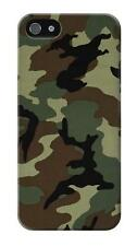 Army Green Woodland Camo Glossy Case for iPhone 5c