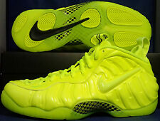 Nike Air Foamposite Pro Volt Black SZ 10 ( 624041-700 )
