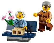 NEW LEGO GRANDPARENTS w/bench 60134 fun in the park minifig grandma grandpa toys