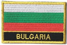 Bulgaria Embroidered Sew or Iron on Patch Badge