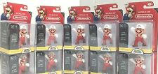"Nintendo Super Mario Bros 2.5"" Action Figure Fire Mario x 10 -Cute Doll, Quality"