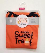 Halloween Baby Infant Bodysuit 6 Months *AUNTIE'S SWEET TREAT by Carter's