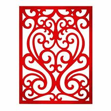 Sizzix Thinlits Ornate Heart die #659007 Retail $19.99 Retired Beauty