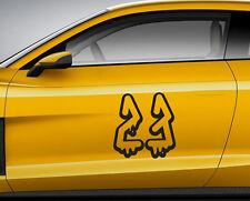 Numeri Corsa Graffiti 05. Personalizzata Auto Vinile Porta Adesivo. TRACK tracce di trasferimento.