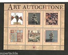 2004 United Nations SC #422 ART AUTOCHTONE mnh Souvenir sheet