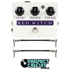 Red Witch Deluxe Moon Phaser Guitar Pedal EFFECTS - NEW - PERFECT CIRCUIT