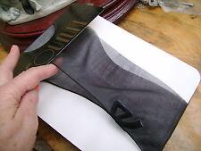 VINTAGE COUTURE Designer Maglieria Scarpa Calze nero con cucitura con fiocco Motif