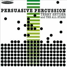 NEW Persuasive Percussion by Terry Snyder & The All Stars/terry Snyder CD (CD)