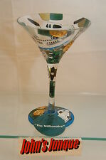 THE MILLIONAIRE~LOLITA GLASS~NEW IN BOX~7 OZ~RETIRED GLASS~FREE SHIPPING IN US~