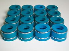 "Viton Positive Valve seals 11/32"" X .500"" Set of 16 SBC BBC SBF"