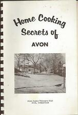 *HOME COOKING SECRETS OF *AVON CT VINTAGE *JR WOMAN'S CLUB COOK BOOK *LOCAL ADS
