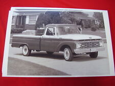 1964 FORD F100 PICKUP TRUCK   BIG  11 X 17  PHOTO PICTURE