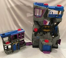 Batman bat cave castle, Mattel and DC Comics, Gotham City Jail, ImagiNext