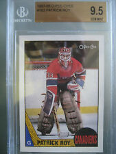 1987-88 O-Pee-Chee #163 Patrick Roy BGS 9.5 **Gem Mint** Canadiens Avalanche