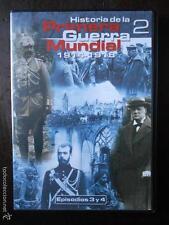 DVD HISTORIA DE LA PRIMERA GUERRA MUNDIAL 2 - 1914-1918 - EPISODIOS 3 Y 4
