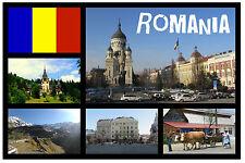 ROMANIA - SOUVENIR NOVELTY FRIDGE MAGNET - BRAND NEW - GIFT