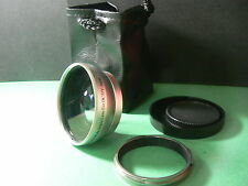 KAW SL 49mm 0.45X Wide-Angle Lens + Adapter Ring For Fujifilm Fuji X100 X100S