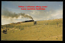 LMH Postcard  UNION PACIFIC Railroad 4-8-8-4 Big Boy Steam Loco UP #4016 1957