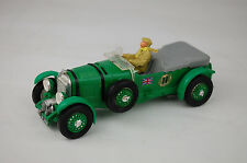 """Tri-Ang Spot On #263 Supercharged Bentley Northern Ireland 4 1/4"""" Long Near Mint"""