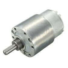 DC 12V 37mm 3.5 RPM High Torque Gear Box Electric Motor Gearbox Replacement NEW