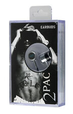 Section8 Officially Licensed TUPAC SHAKUR Earbuds in Cassette Style Vintage Pack