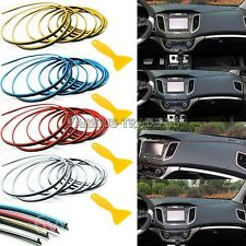 5M DIY Point Car/Truck Edge Gap Interior Line Molding Garnish Decor Color Strip