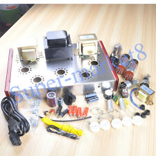 Class A Single Ended EL34 5Z3P Tube Audio Amplifier 13W*2 HIFI Valve Amp DIY Kit