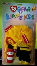 TY Gear Clothes for Beanie Kids Firefighter Outfit In original package unopened
