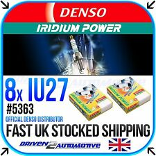 8 x DENSO IRIDIUM PLUGS *SALE* IU27 FOR SUZUKI,GSX-R750 T, V, W, X, Y, K1-K7 750