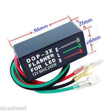 Centrale clignotante electronique pour clignotants a LED resistance relais moto