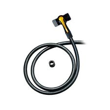 TOPEAK JOE BLOW FLOOR PUMP HEAD & HOSE with twin head schrader & presta TTH-01
