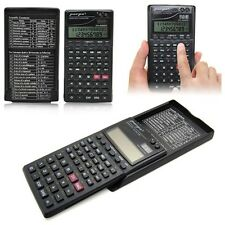 2015 New Electronic Calculator Scientific Statistics Fraction Clock Cover