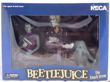 Neca Beetlejuice Afterlife  The Couch Scene      4 Piece Diorama Set