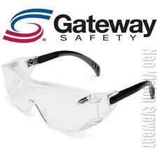 Gateway Cover2 OTG Clear Fit Over Most Safety Glasses Z87+ CSA Z94.3