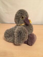 Mary Meyer Stuffed Gray Goose Swan Chick Ugly Duckling EUC