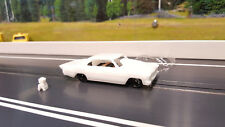 1966 NOVA PRO MOD, HO RESIN DRAG RACING BODY