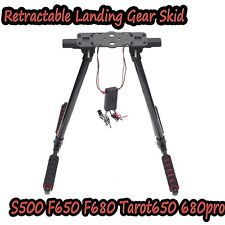 Electric Retractable Landing Gear Skid S500 F650 F680 Tarot650 680pro FPV     S