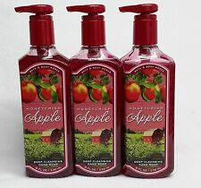 3 Bath & Body Works HONEYCRISP APPLE Deep Cleansing Hand Soap