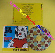 CD SOUNDTRACK Todo Sobre Mi Madre OST14 ALBERTO IGLESIAS no mc lp dvd vhs(OST3*)