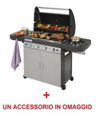 BARBECUE GAS 4 SERIES CLASSIC LS PLUS FORNELLO LATERALE CAMPINGAZ CON UN OMAGGIO
