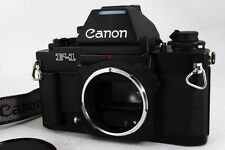 【MINT+++】Canon NEW F-1 AE FINDER MAT BLACK 35mm SLR Film camera from JAPAN #258